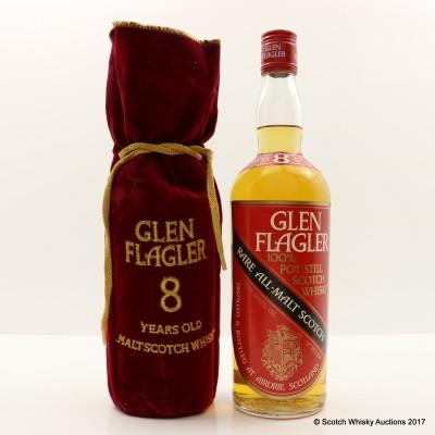Glen Flagler 8 Year Old 26 2/3 Fl Oz
