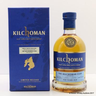 Kilchoman 2007 10 Year Old for Kilchoman Club 6th Edition