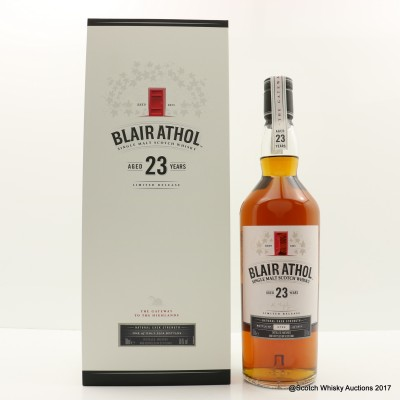 Blair Athol 23 Year Old 2017 Release