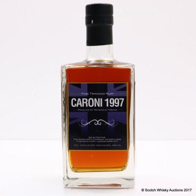 Caroni 1997 Trinidad Rum For The Royal Marines 350th Anniversary