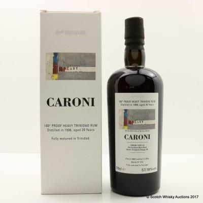 Caroni 1996 20 Year Old Heavy Trinidad Rum 34th Release