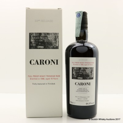 Caroni 1998 16 Year Old Heavy Trinidad Rum 32nd Release