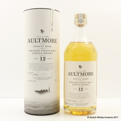 Aultmore 12 Year Old 1L