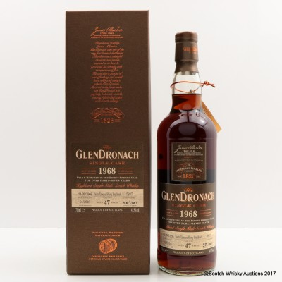 GlenDronach 1968 47 Year Old Single Cask #5837