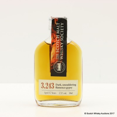 SMWS 3.243 Bowmore 17 Year Old Feis Ile 2015 Mini 5cl