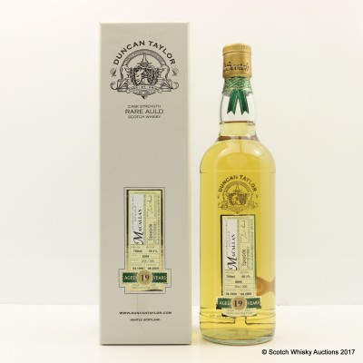 Macallan 1990 19 Year Old Duncan Taylor