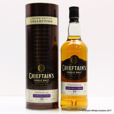 Springbank 1968 39 Year Old Chieftain's 75cl
