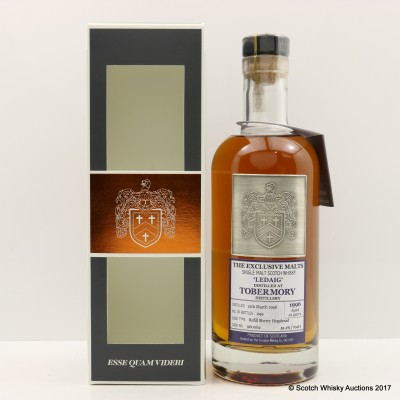 Ledaig 1996 21 Year Old Creative Whisky Co