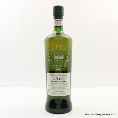 SMWS 76.63 Mortlach 12 Year Old