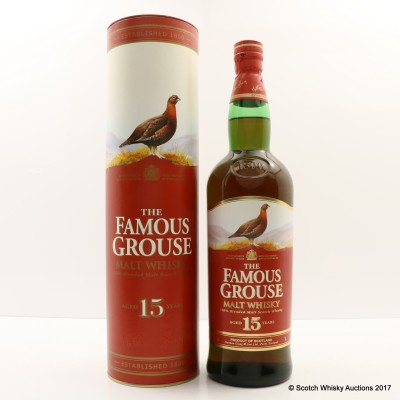 Famous Grouse 15 Year Old 1L
