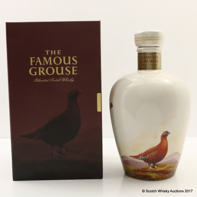Famous Grouse Ceramic Wade Decanter