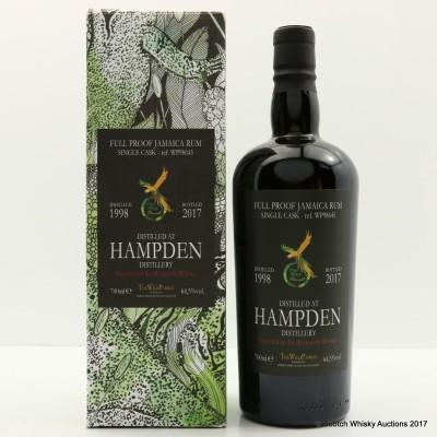 Hampden 1998 Single Cask Wild Parrot Selected By La Maison du Whisky