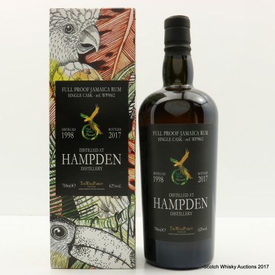 Hampden 1998 Single Cask Wild Parrot