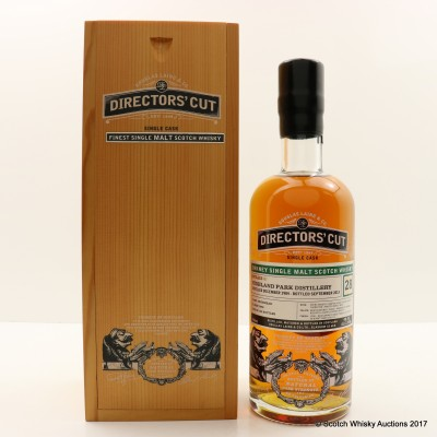 Highland Park 1984 28 Year Old Directors' Cut