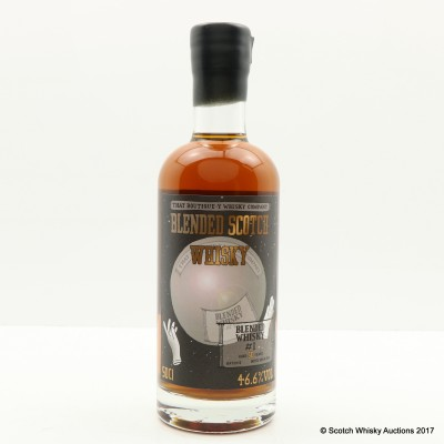 BOUTIQUE-Y WHISKY CO BLENDED WHISKY #1 50 YEAR OLD BATCH #5 50cl