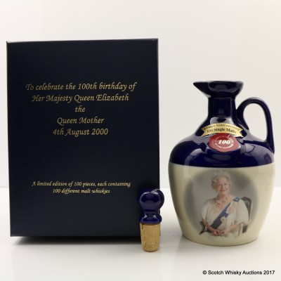 Rutherford's Ceramics 100th Birthday of Queen Elizabeth, The Queen Mother