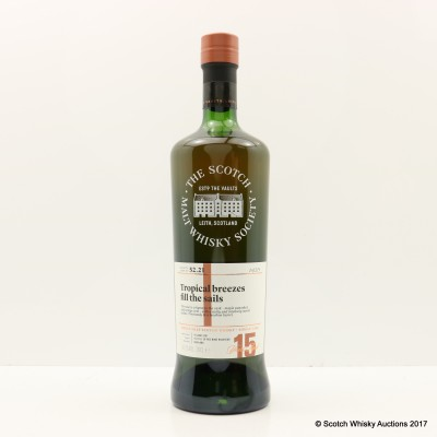SMWS 52.21 Old Pulteney 2001 15 Year Old