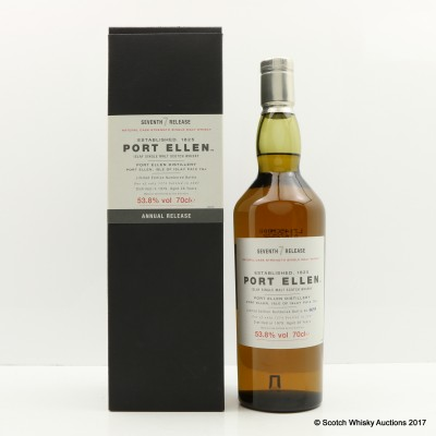 Port Ellen 7th Annual Release 1979 28 Year Old