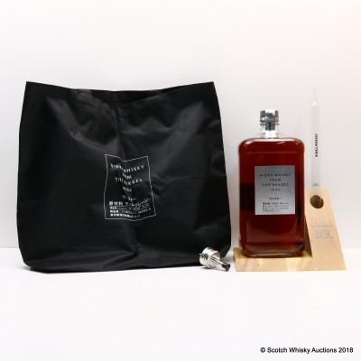 Nikka From the Barrel 80th Anniversary 3L, Wooden Display Plinth, Pourer & Large Pipet