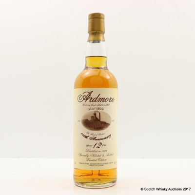 Ardmore 1986 12 Year Old 100th Anniversary