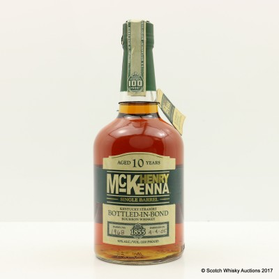 Henry McKenna 10 Year Old Single Barrel 75cl