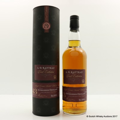 Invergordon 1972 43 Year Old A.D. Rattray