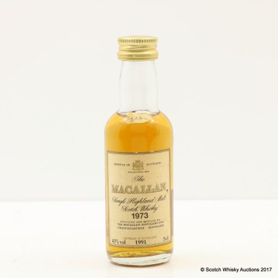 Macallan 1973 Japan Bottling Mini 5cl