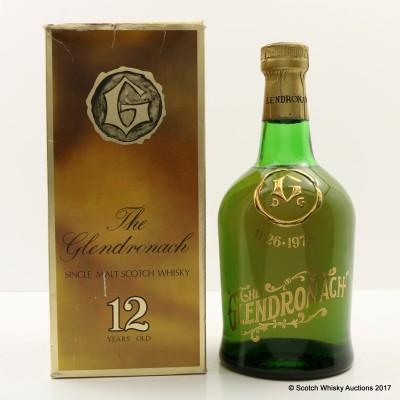 GlenDronach 150th Anniversary Screen Print Bottle 75cl