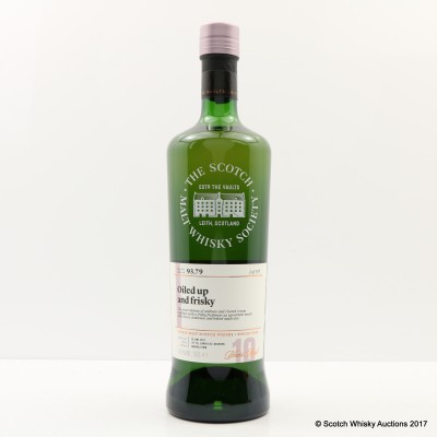 SMWS 93.79 Glen Scotia 2007 10 Year Old