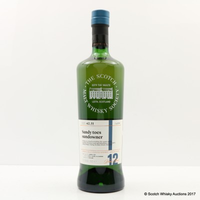 SMWS 42.31 Ledaig 2005 12 Year Old