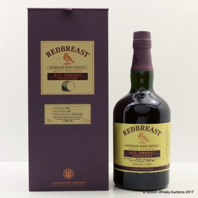 Redbreast 2001 Sherry Single Cask #18829 Master of Malt Exclusive