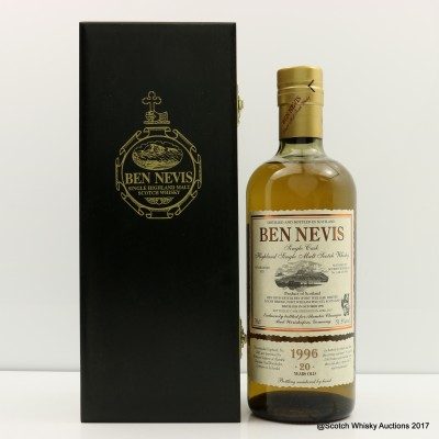 Ben Nevis 1996 20 Year Old For Alambic Classique Single Cask #1440