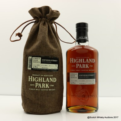 Highland Park 2001 15 Year Old Vintersolstandet