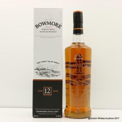 Bowmore 12 Year Old for Special Boat Service