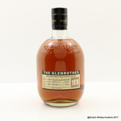 Glenrothes 1978 75cl