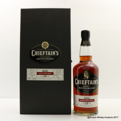 Brora 1982 19 Year Old Chieftain's
