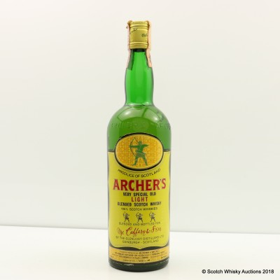 Archer's Very Special Old Light Blended Scotch 75cl