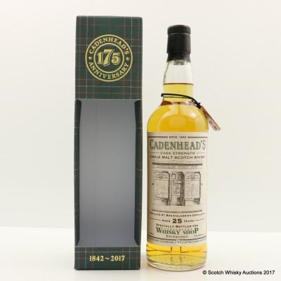 Bruichladdich 1992 25 Year Old for Cadenhead's Shop Edinburgh