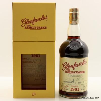 Glenfarclas 1961 Family Cask #1322 Release III
