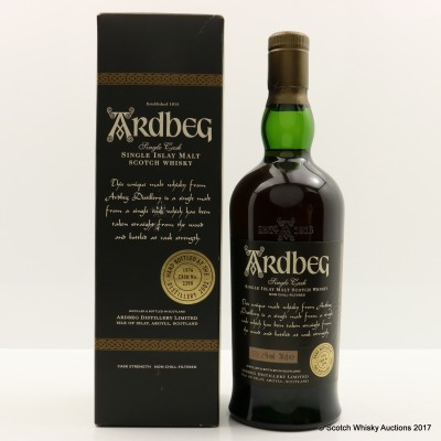 Ardbeg 1976 Single Cask Hand Filled
