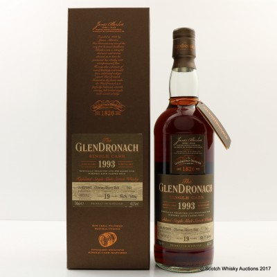 GlenDronach 1993 19 Year Old Single Cask #543 Whisky Live Taipei 2012 Exclusive