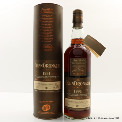 GlenDronach 1994 20 Year Old Single Cask #1501