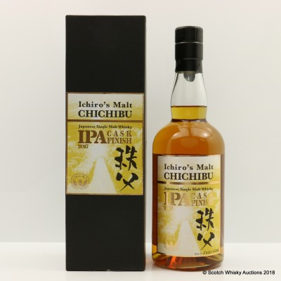Chichibu Ichiro's Malt IPA Cask Finish 2017 Release