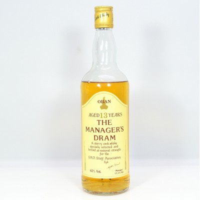 Manager's Dram Oban 13 Year Old