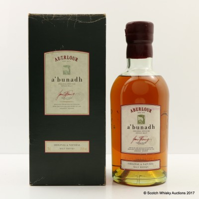 Aberlour A'Bunadh Very Early Batch