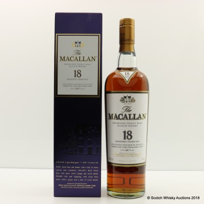Macallan 18 Year Old 2017 Release