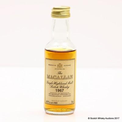 Macallan 1967 Mini 5cl