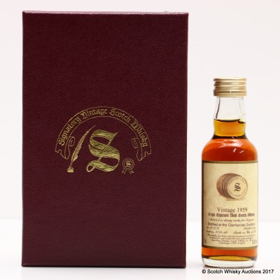 Glenfarclas 1959 34 Year Old Signatory Mini 5cl