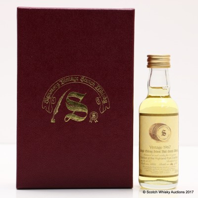 Highland Park 1967 25 Year Old Signatory Mini 5cl