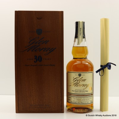 Glen Moray 30 Year Old Limited Edition